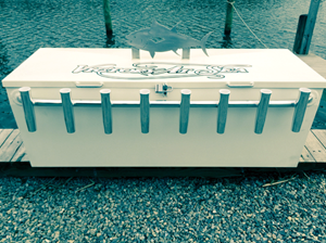 custom dock box